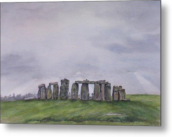 Stonehenge  Metal Print by Debbie Homewood