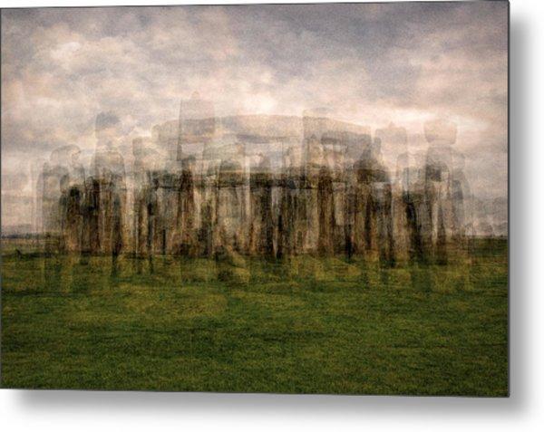 Stonehenge Metal Print by Denis Bouchard