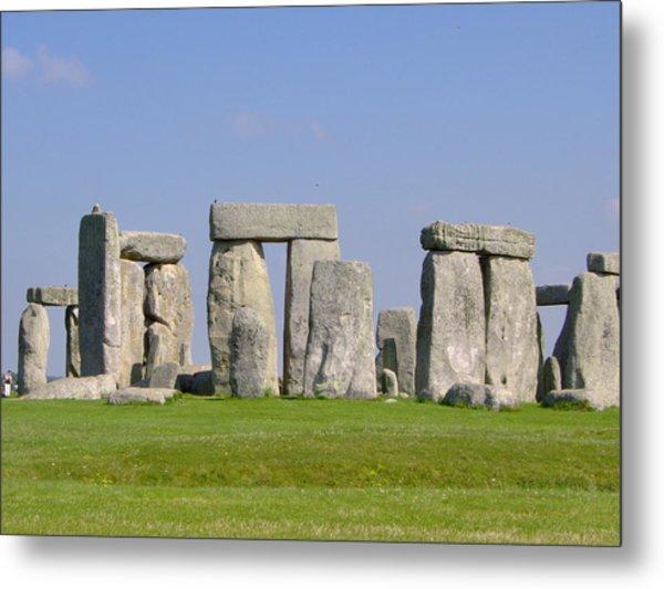 Stonehenge Morning Metal Print