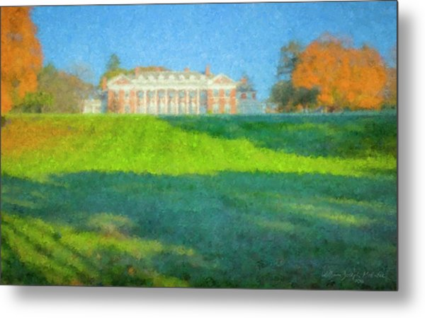Stonehill College In October Metal Print