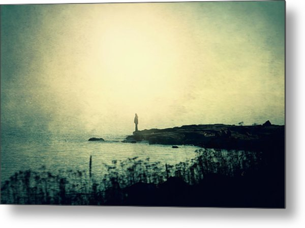 Stories From The Sea Metal Print