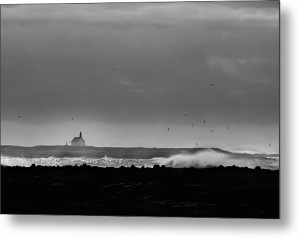 Storm Brewing Metal Print