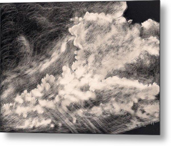 Storm Clouds 2 Metal Print by Elizabeth Lane
