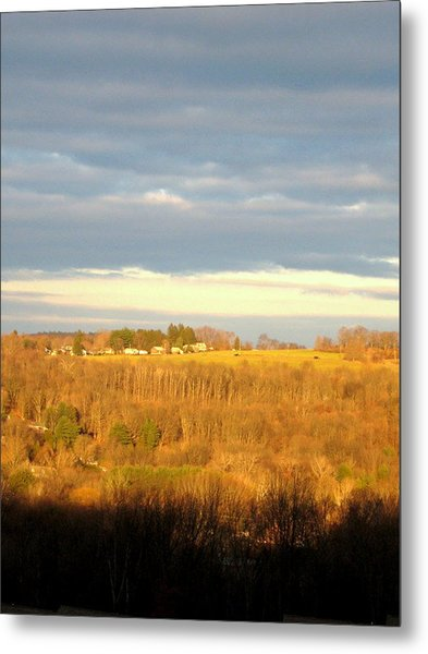 Storm Clouds Metal Print by Marcia Crispino