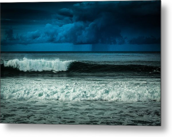 Storm Clouds On The Horizon Metal Print