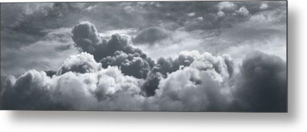 Storm Clouds Over Sheboygan Metal Print