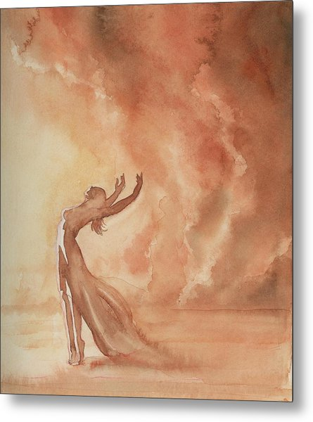 Storm Dancer Metal Print