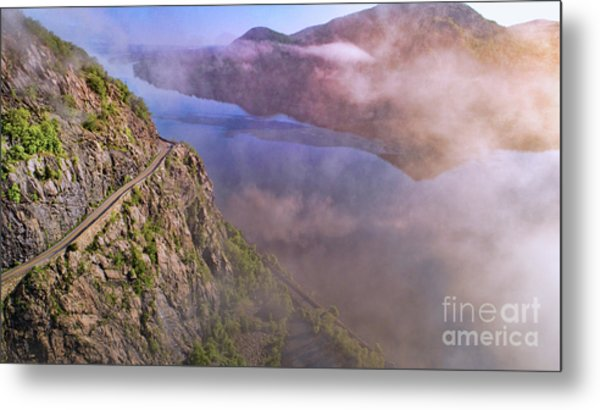 Storm King Highway Metal Print
