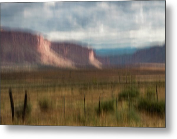 Metal Print featuring the photograph Storm Light In The Paradox Valley by Deborah Hughes