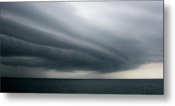 Storm Near Liberia Metal Print