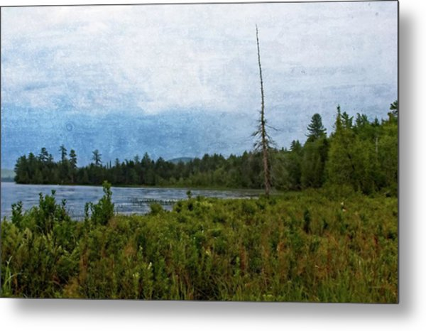 Storm On Raquette Lake Metal Print