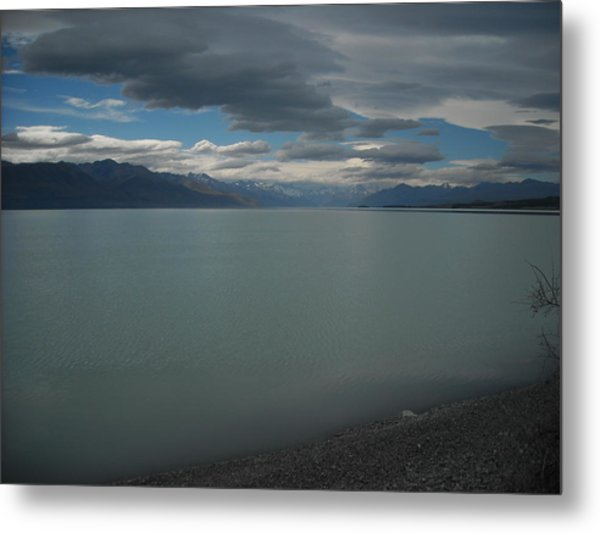 Storm On The Lake Metal Print by Petrina McLachlan