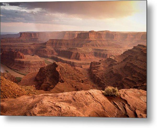 Storm Over Canyonlands Metal Print