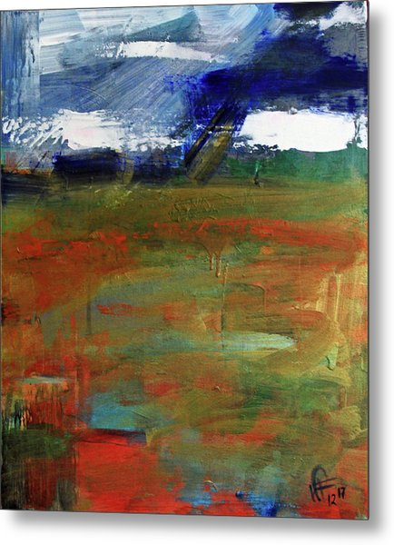 Storm Prelude Right Panel Metal Print