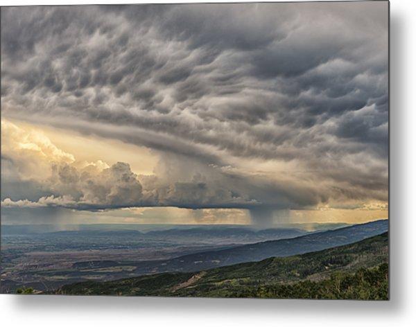 Storm View Metal Print