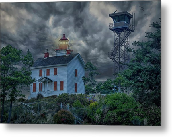 Storm Watch Metal Print