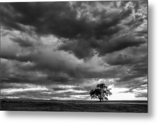 Storms Clouds Passing Metal Print