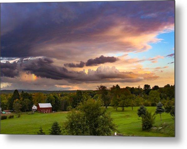 Stormy Clouds Metal Print