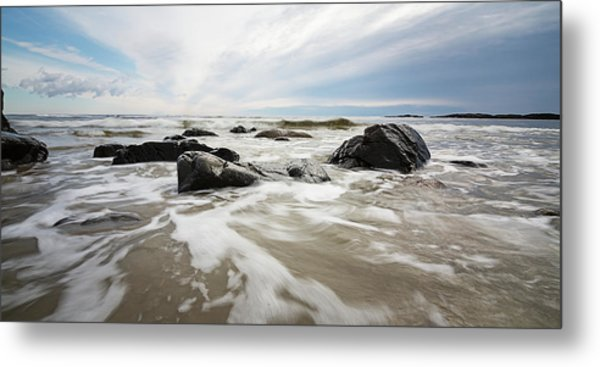 Stormy Maine Morning #3 Metal Print