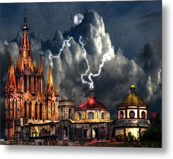 Stormy Night Metal Print