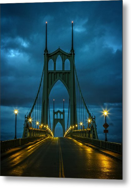 Stormy St. Johns Metal Print