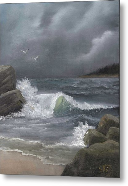 Stormy Waters Metal Print