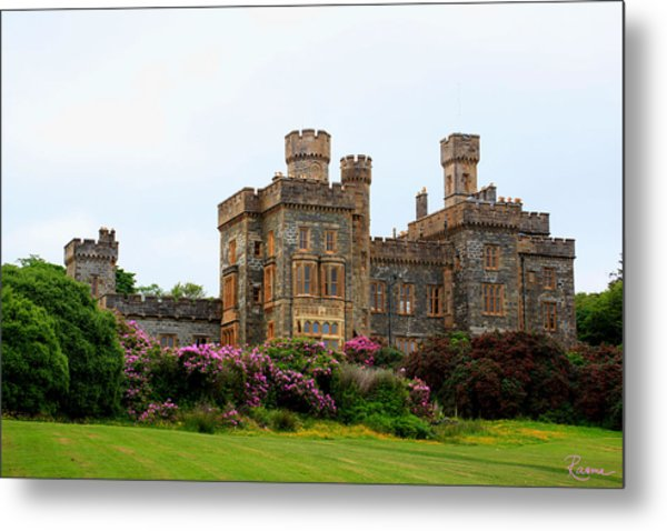 Metal Print featuring the photograph Stornoway Castle by Rasma Bertz