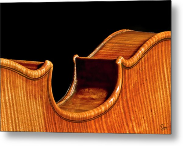 Stradivarius Back Corner Metal Print