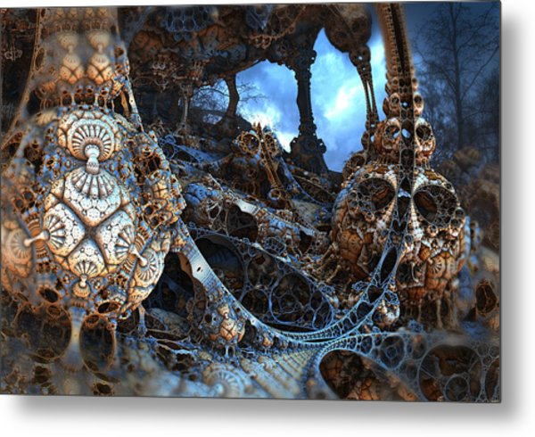Strange Surroundings Metal Print