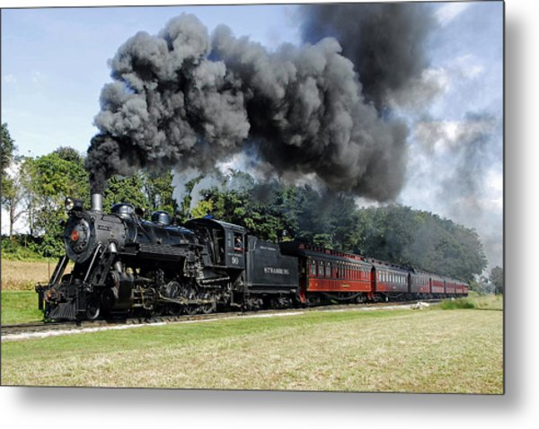 Strasburg Railroad Metal Print