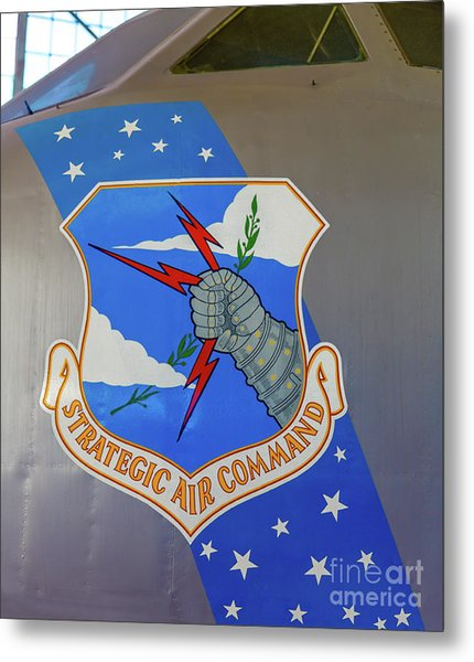Strategic Air Command Metal Print