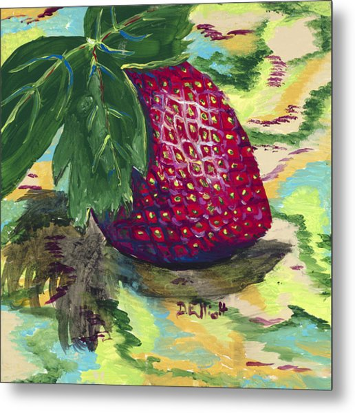 Strawberry Metal Print by Davis Elliott