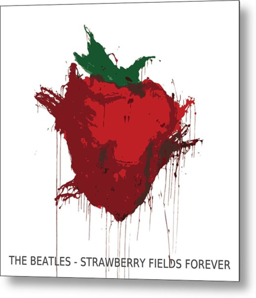 Strawberry Fields Forever  Metal Print by Koichi Endo
