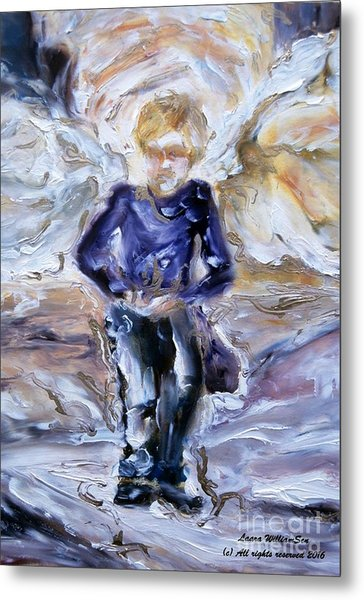 Street Angel Metal Print