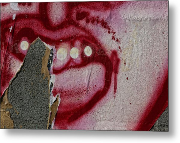 Street Art Wiiliamsburg Brooklyn 2 Metal Print by Robert Ullmann