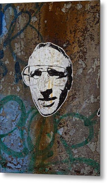 Street Art Wiliamsburg Brooklyn Metal Print by Robert Ullmann