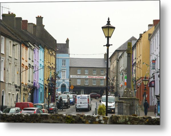 Streets Of Cahir Metal Print