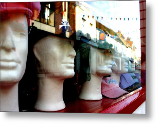 Street Party Without Us Metal Print by Jez C Self
