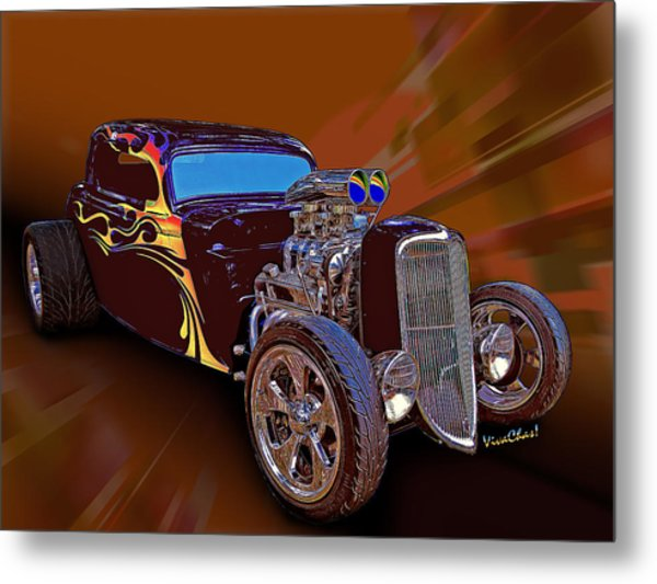 Street Rod What Is It Metal Print