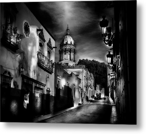 Street To The Nun's Church Metal Print