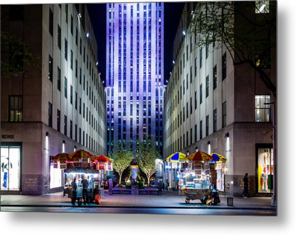Rockefeller Center Metal Print