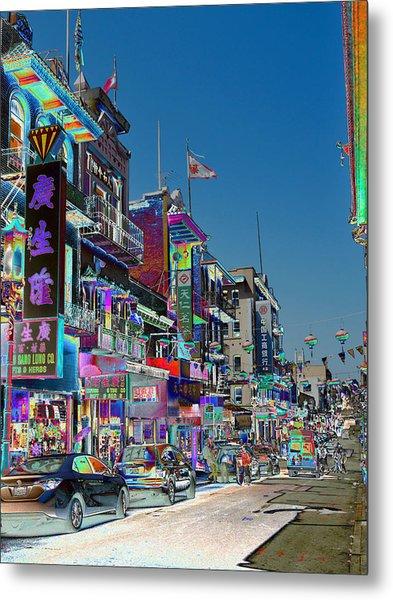 Streets Of Color Metal Print
