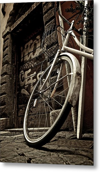 Streets Of Rome Metal Print