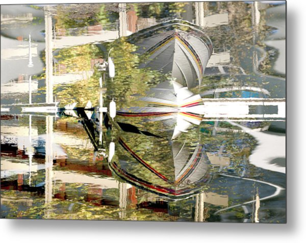Stresa Metal Print by Mary Mansey