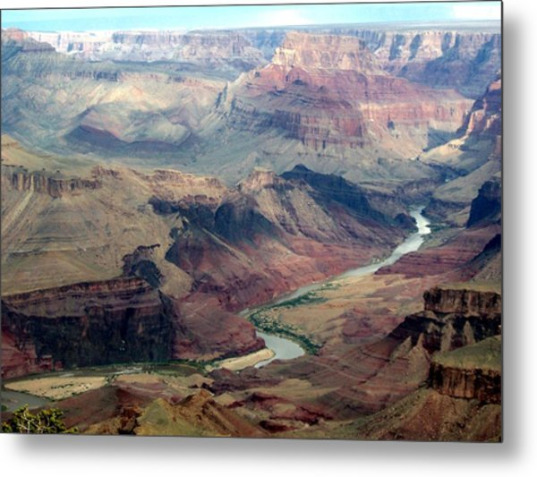 Stretch Of Glory Metal Print by Carrie Putz