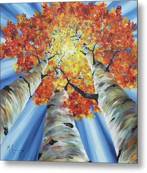 Striking Fall Metal Print