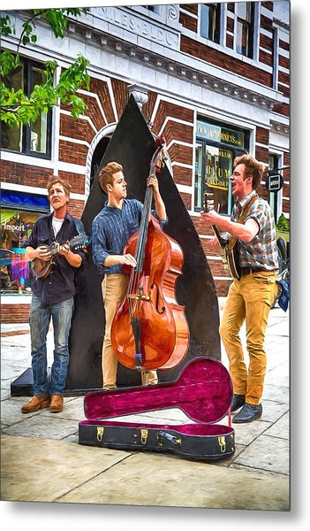 String Trio Metal Print