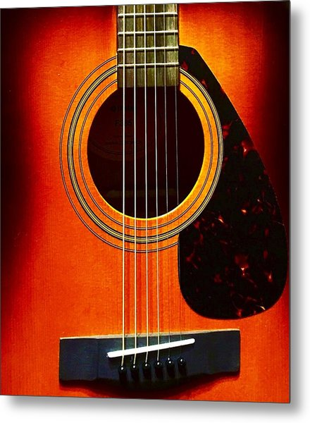 Strings  Metal Print
