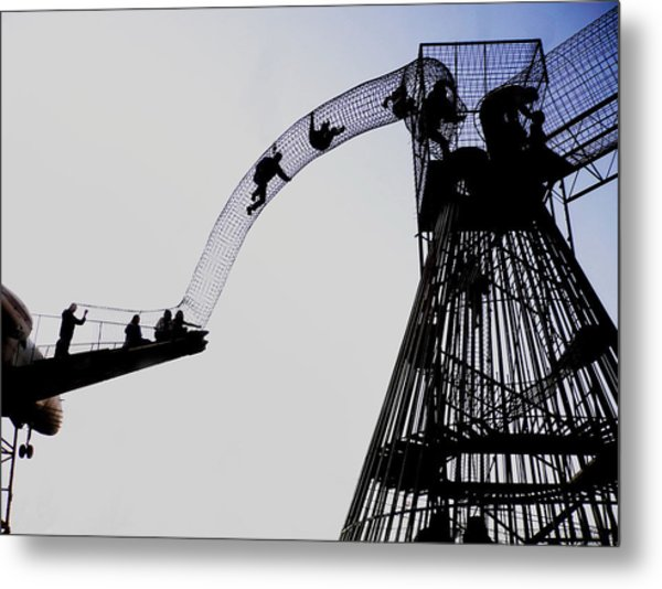 Metal Print featuring the photograph Striving by David Coblitz