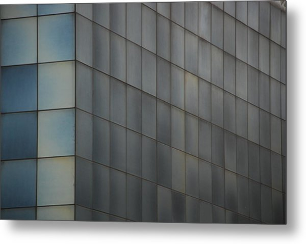 Structure 5 Metal Print